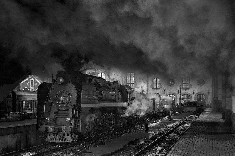 Вагон, Вокзал, Генерал, Дым, Паровоз, Победа, Поезд, Рельсы, Ретропоезд, Ржд, Станция Мой параллельный мирphoto preview