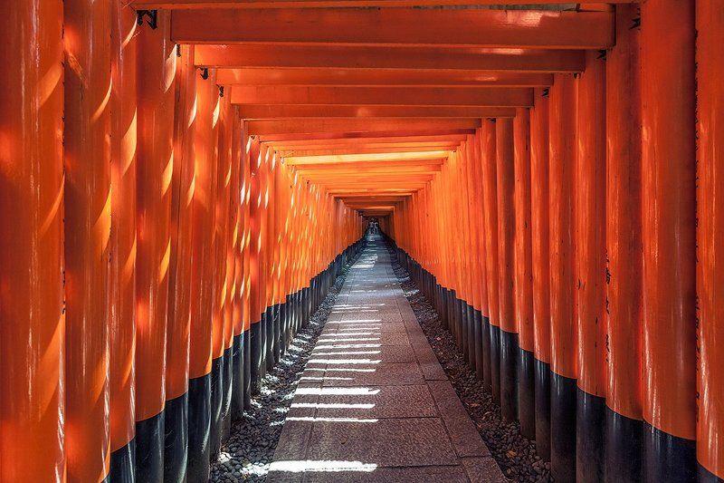япония, киото, азия, храм, религия, история, святилище Фусими Инариphoto preview
