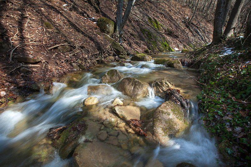 Горы, Крым, Пейзаж, Река Прогулка по Курлюк-Суphoto preview
