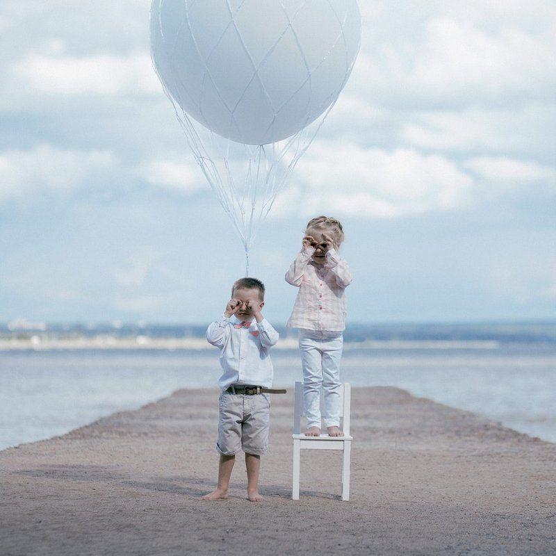 Boy, Girl, Девочка, Мальчик, Парашют, Пилот, Пирс pilotsphoto preview