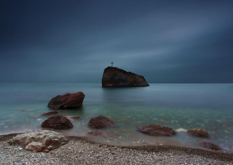 фиолент море камни скала небо Вечерняя репетиция камерного ансамбляphoto preview
