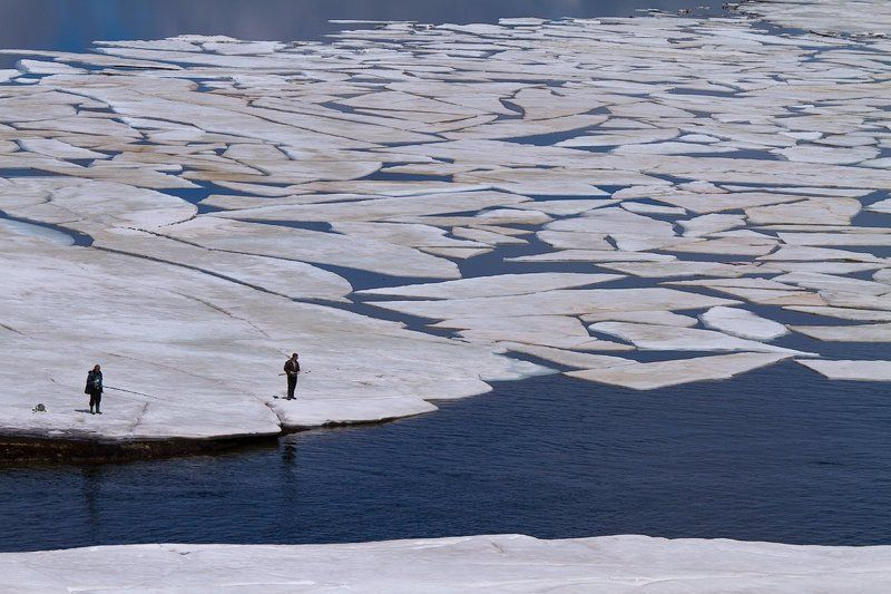 белмекен, булгария, лед, озеро, рыбалка Рыбалкаphoto preview