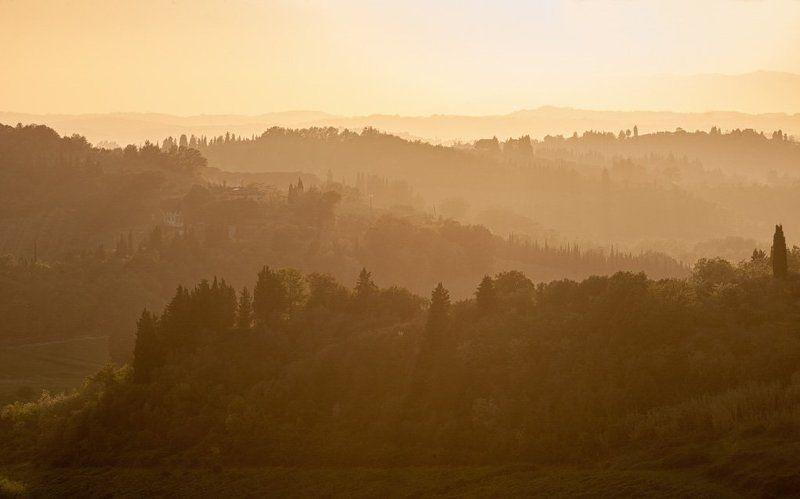 фототур, тоскана, италия, закат Токанский закатphoto preview