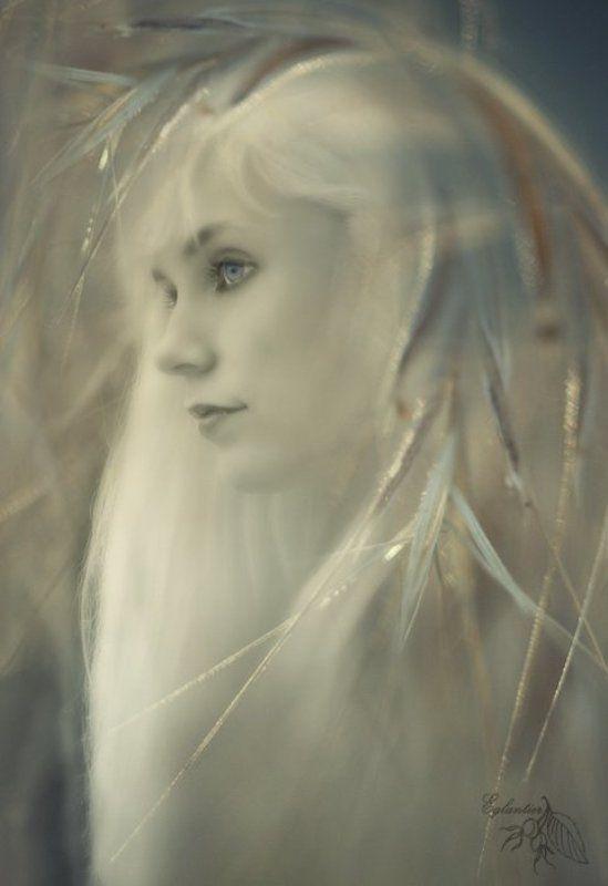 нимфа, трава, фентези, девушка, портрет Нимфаphoto preview