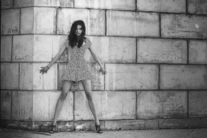 девушка, портрет, ч/б, лето, город, мода, красота, Reginaphoto preview
