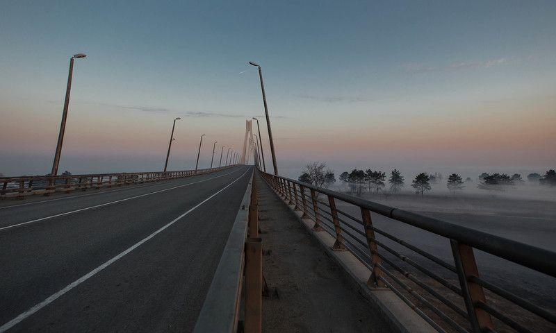 мост, рассвет, Муром, пейзаж, природа Муромский мост (рассвет)photo preview