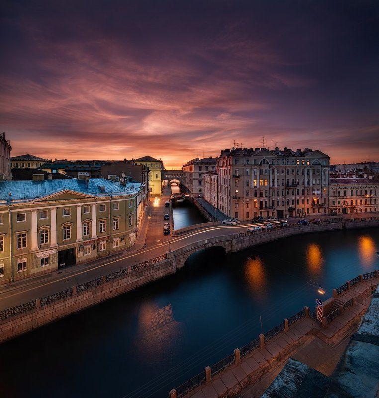 Вечер, Лето, Санкт петербург Вечерний Петербург. Зимняя канавкаphoto preview