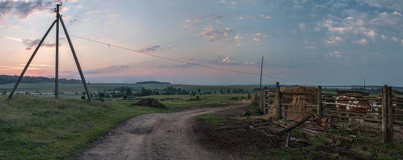 Пушкарёво Смоленская область Лето Наступало доброе утроphoto preview