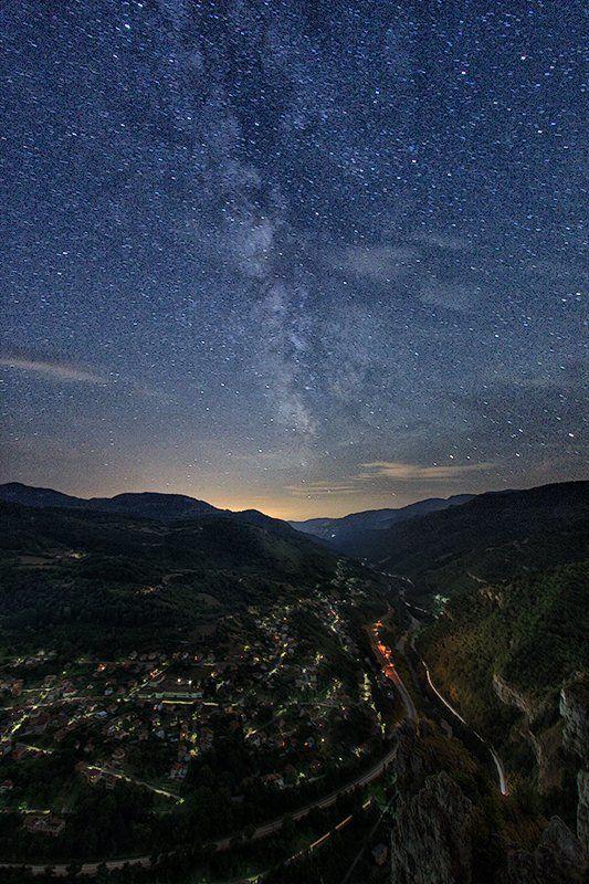 лакатник, млечный путь, ночной пейзаж, ночь, стара планина Звездная ночьphoto preview