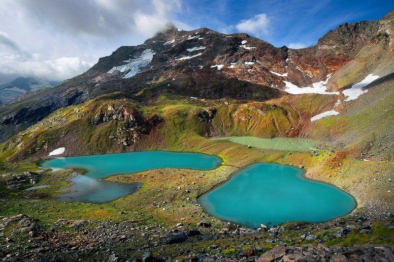 Зелёные озера под Чучхур-Башиphoto preview