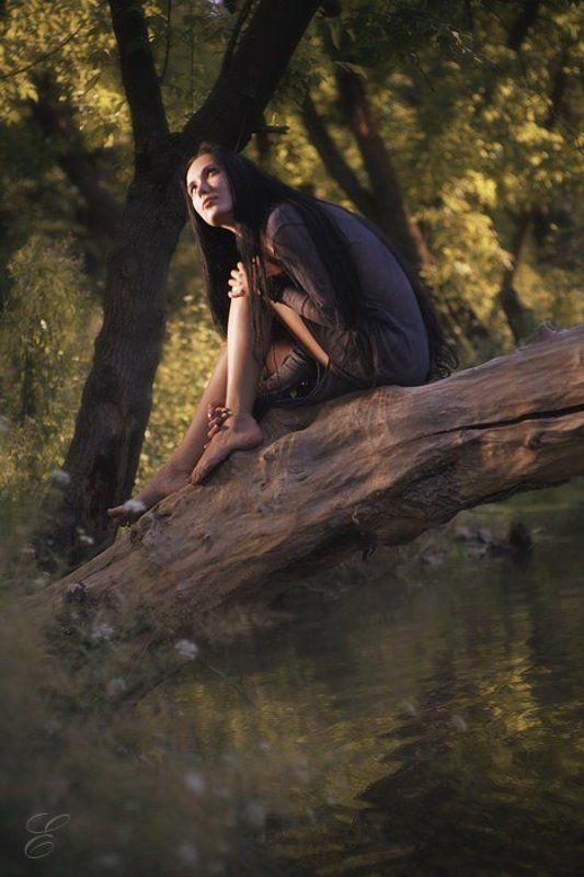 девушка, наяда, дерево, вода, природа, магия, чудеса, портрет Naiadephoto preview