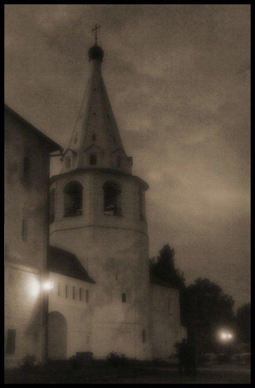 ночь, суздаль, стилизация, ретро Ночь в Суздале Iphoto preview