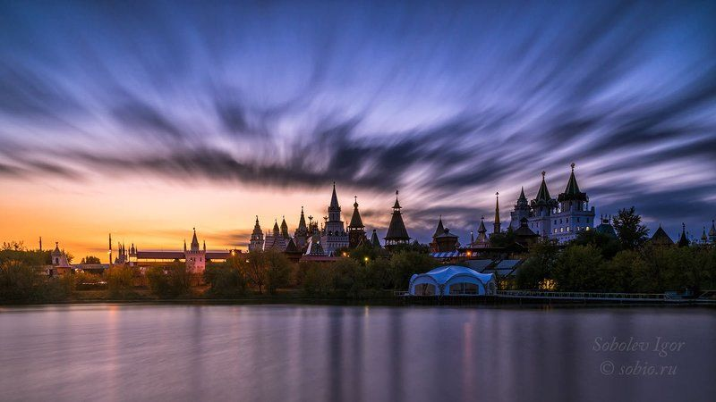 a7r, sony, вечер, закат, измайлово, кремль, москва Поймать дракона за хвостphoto preview