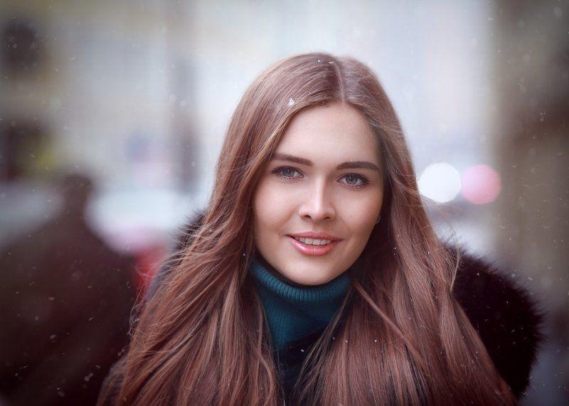 женский портрет, портрет, портрет девушки Незнакомкаphoto preview