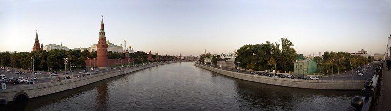 москва, панорама, кремлёвская, набережная Кремлёвскаяphoto preview