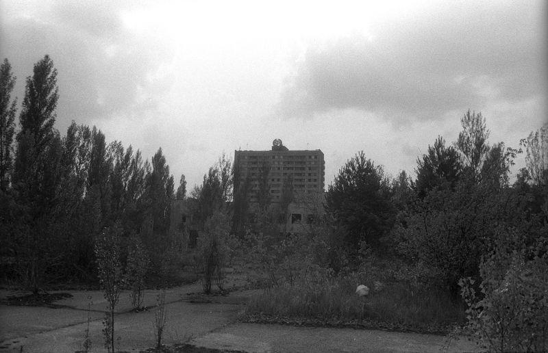 Чернобыль, Украина, АЭС, репортаж, пленка, чб, Застывшее время...photo preview