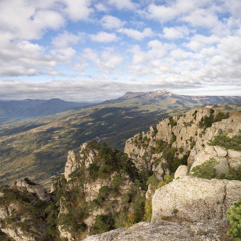 Crimea, Mountains, Nature, Гора, Горы, Крым, Природа Вид на Чатыр Дагphoto preview