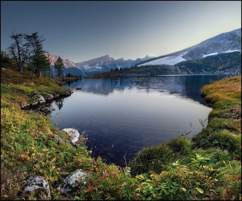 вечер, горы, золотая долина, кузнецкий алатау, озеро круглое, ярославский виталий Вечер у Круглого озераphoto preview