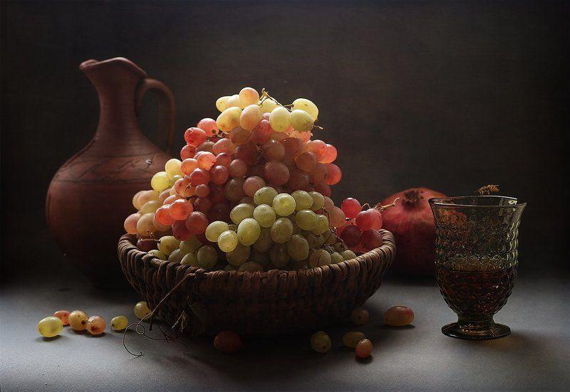 Виноград, Мандарины, Фрукты, Яблоки Фруктыphoto preview