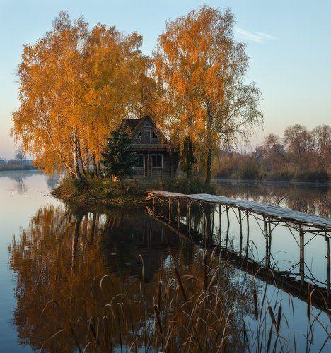 Осенние отражения...