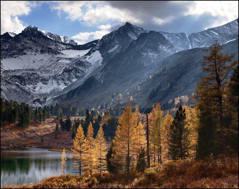 алтай, горы, крепкое озеро, осень, ярославский виталий Осень у Озераphoto preview