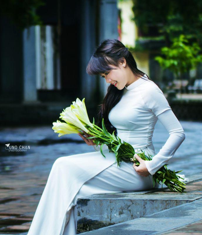 ao dao, unochan,vuonghongchan, hanoi, vietnam ao dai Vietnamphoto preview