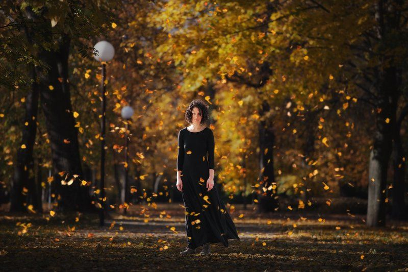 Autumn, Autumngirl, Forest, Landscape, Mood, Portrait, Story Subtilityphoto preview