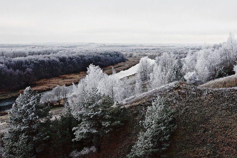 природа Серебряная тишинаphoto preview