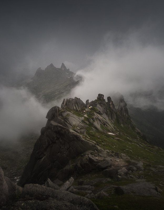 ergaki, siberia, ергаки, сибирь, саяны, гора, дракон, mountain, dragon, sayan Тайгиш-ш-ш...photo preview