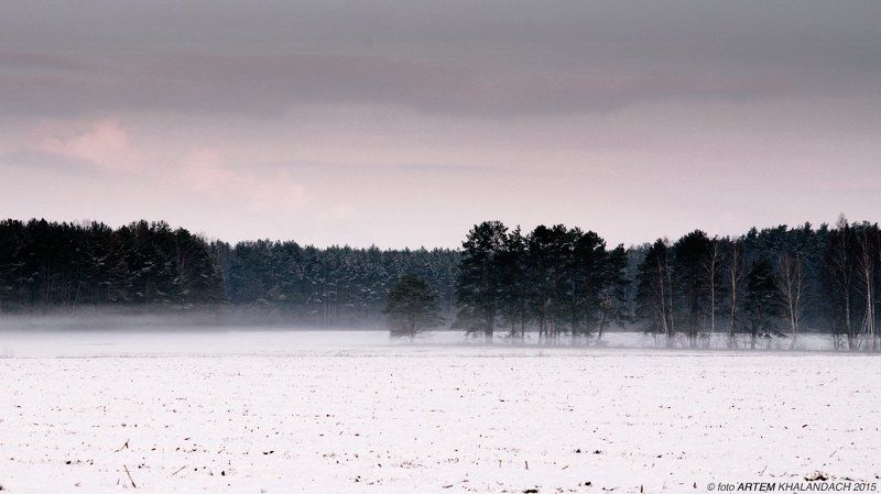 Первый снег и последний туманphoto preview