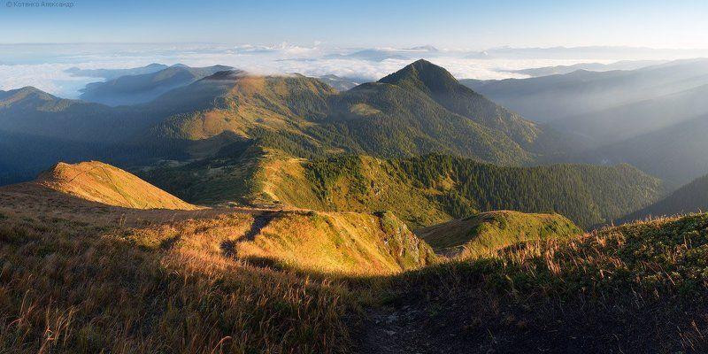 Горы, Карпаты, Мармаросы, Осень, Петрос ***photo preview