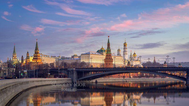 москва, россия, кремль, город, городской пейзаж, sony a7r Московский кремль утром.photo preview