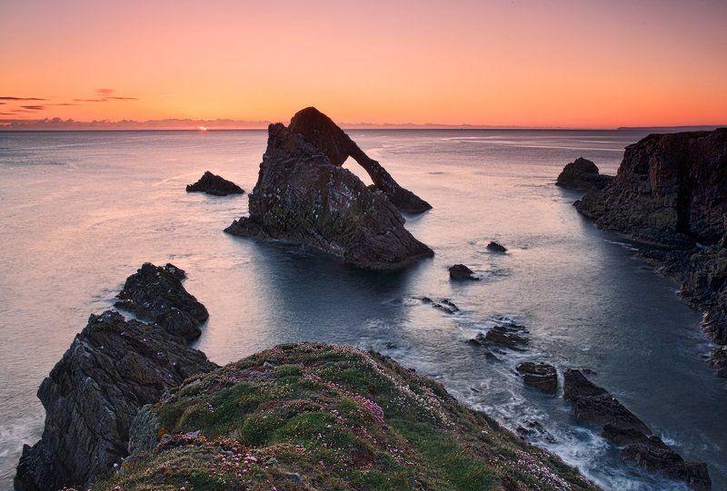 шотландия, scotland, moray, mc Оранжевое небо, оранжевое море, оранжевая зелень, оранжевый верблюд..photo preview