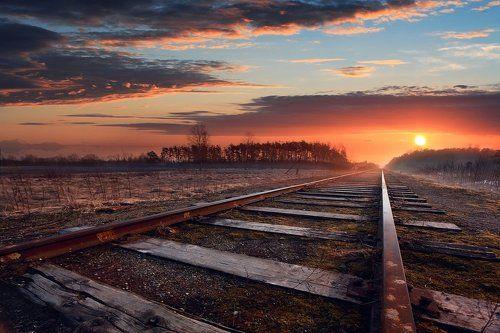 Здесь не ходят больше поезда....