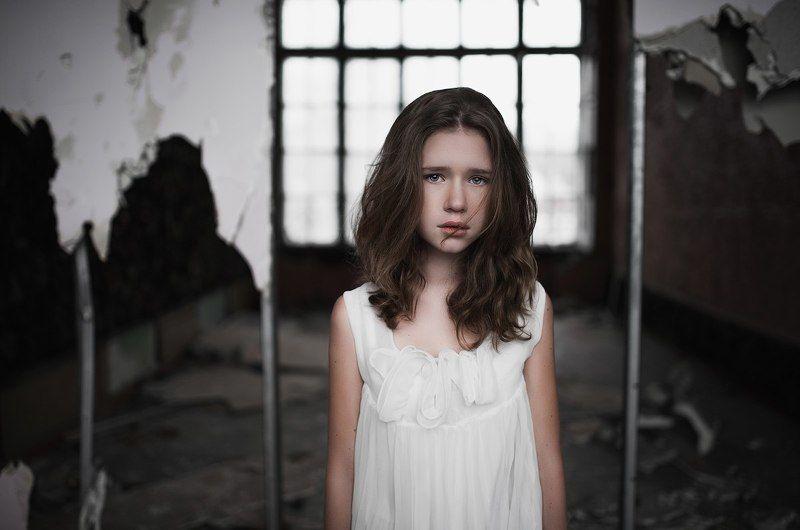 Безвыходность, Безысходность, Грусть, Девочка, Одиночество, Тишина Тишинаphoto preview