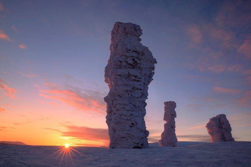 Рассвет на плато исполиновphoto preview