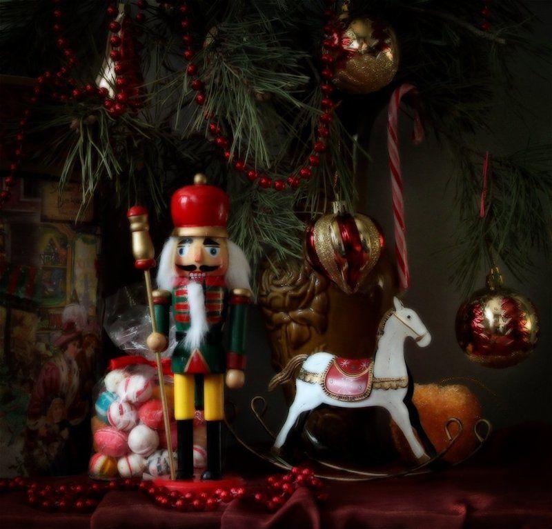 Новый год, Праздник, Щелкунчик С Наступающим Новым Годом!photo preview