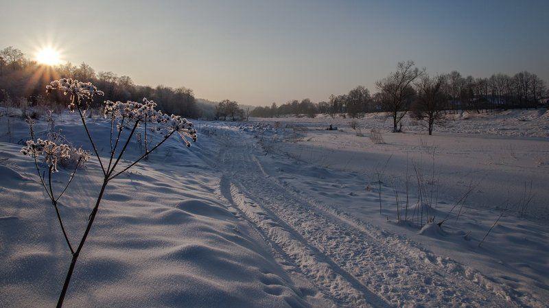 Москва-река, Васильевское, январь. Привет, Зимушка!photo preview