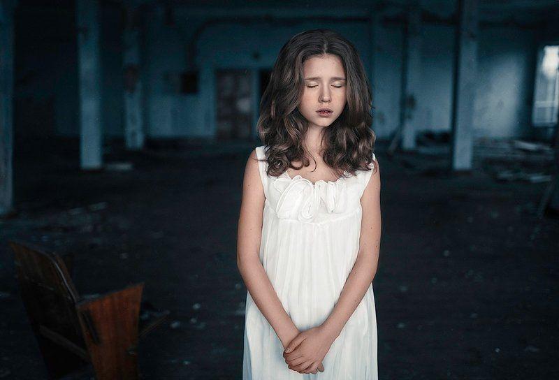 #девочка #грусть #меланхолия ...photo preview