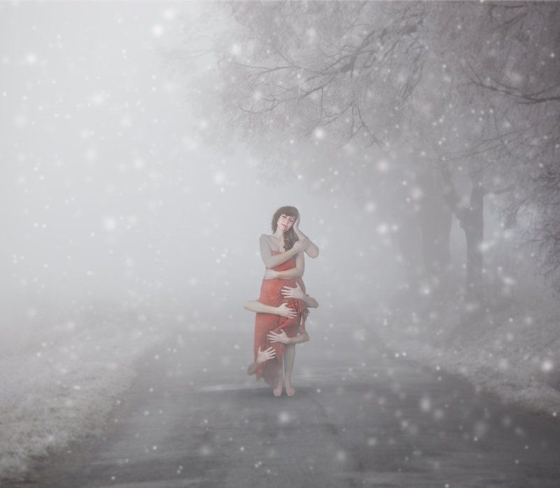 Conceptual, Creative, Mood, Story Long Lonely Winterphoto preview