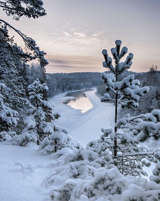 Утес орла. Латвия .photo preview