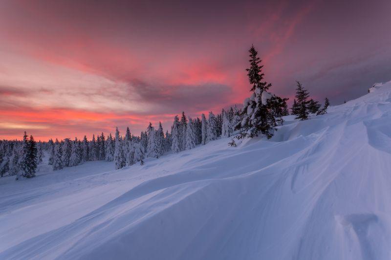 зима, урал, таганай, златоуст, рассвет, t_berg Рассвет на семи ветрахphoto preview