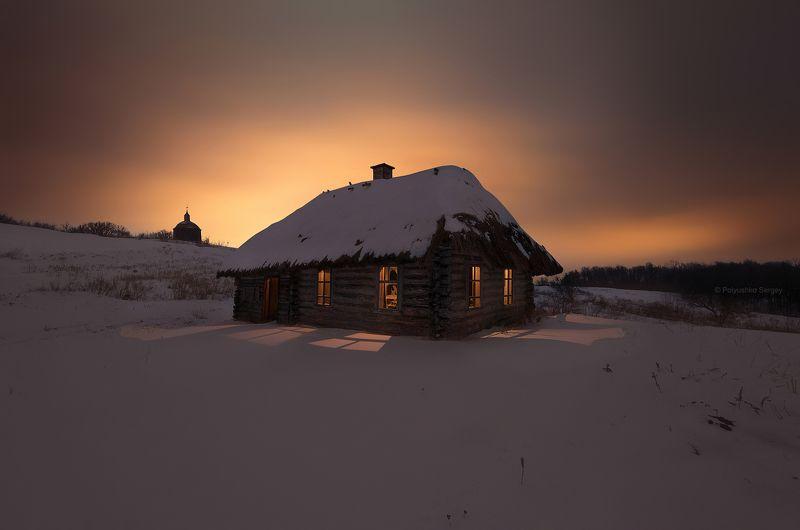 Зима, Ночь, Снег, Украина ***photo preview