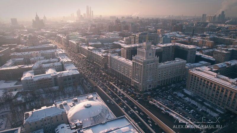 Над замерзшей Москвой №2photo preview