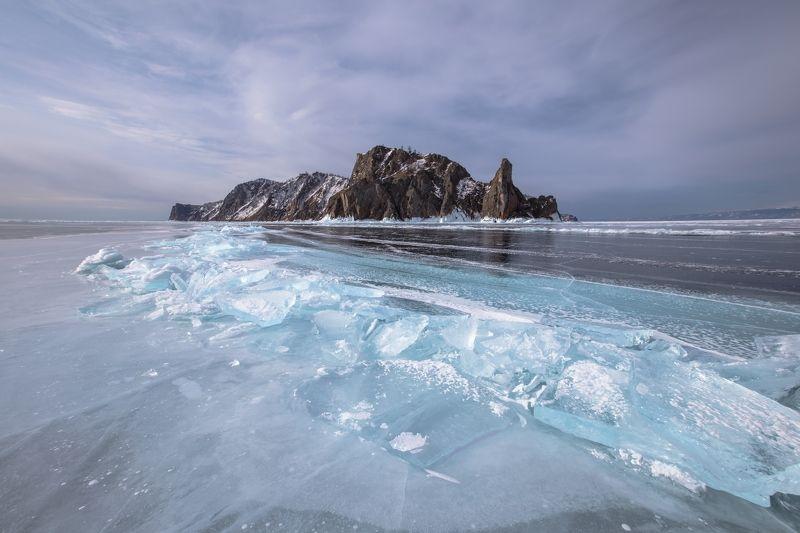 Байкал, Ольхон, Хобой, скалы, лед Хобой IIphoto preview