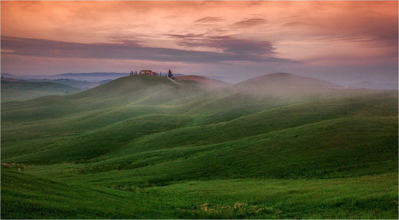 Italy, Tuscany, Италия, Тоскана Tuscany grassland.photo preview