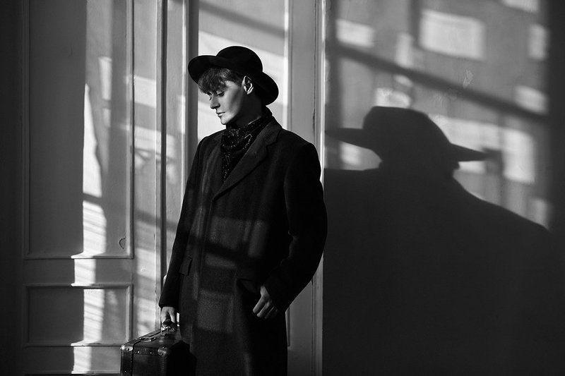 bwphotography, hat, man, portrait, мужчина, портрет, чб Георгийphoto preview