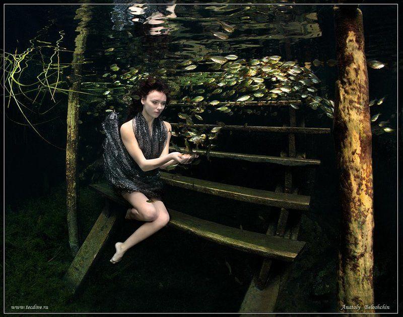 nude, fashion, underwater, photo, cave, cristal, anatoly, beloshchin, canon, d,5, mark, ii, dances, seacam Принцесса Моря (подводное фото)photo preview