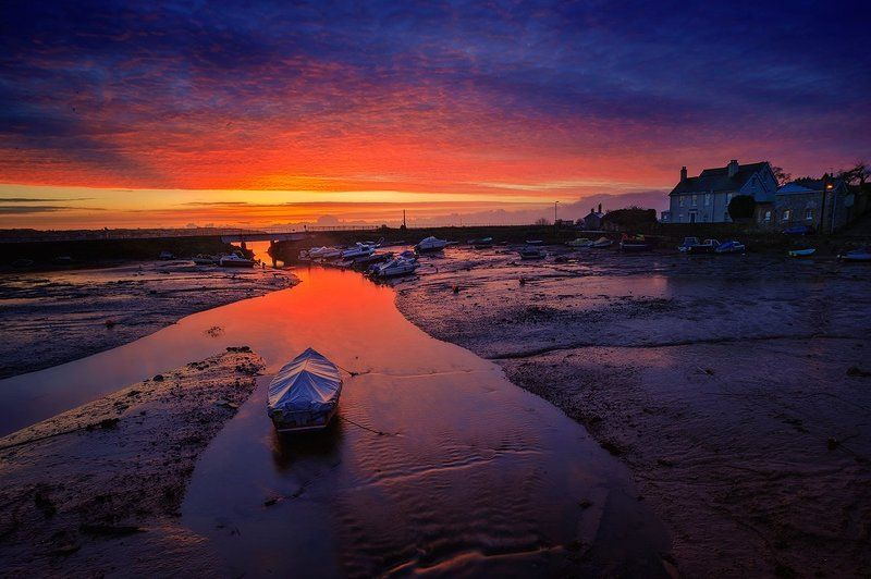 Low tide sunrise 2photo preview