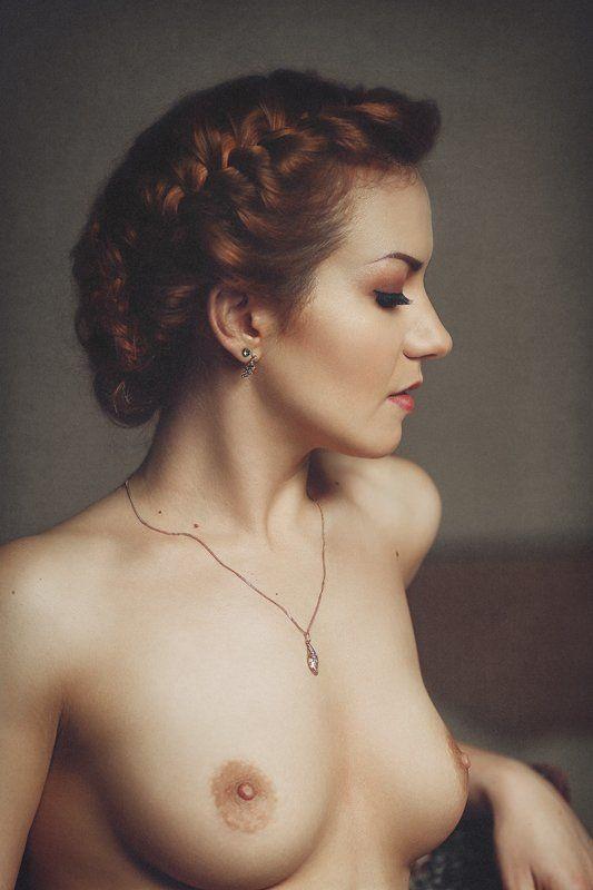 Nude, Portrait, Woman, Девушка, Женский портрет, Ню, Портрет девушки Анастасияphoto preview